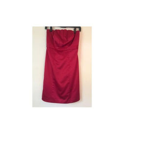 The Limited Dress Red Women Strapless Formal